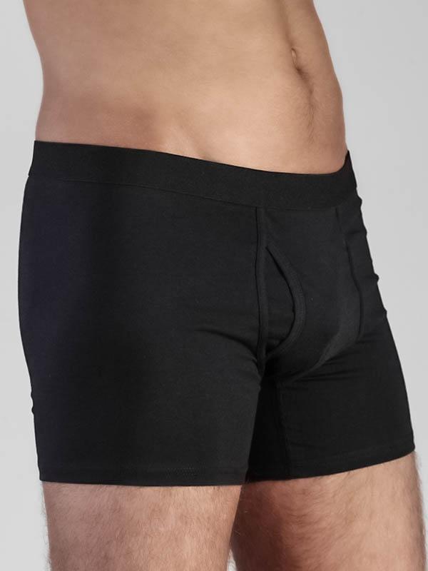 Herren-Boxershorts schwarz