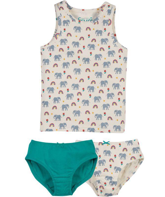 Süßes Unterwäsche-Set für Mädchen im 3er-Pack