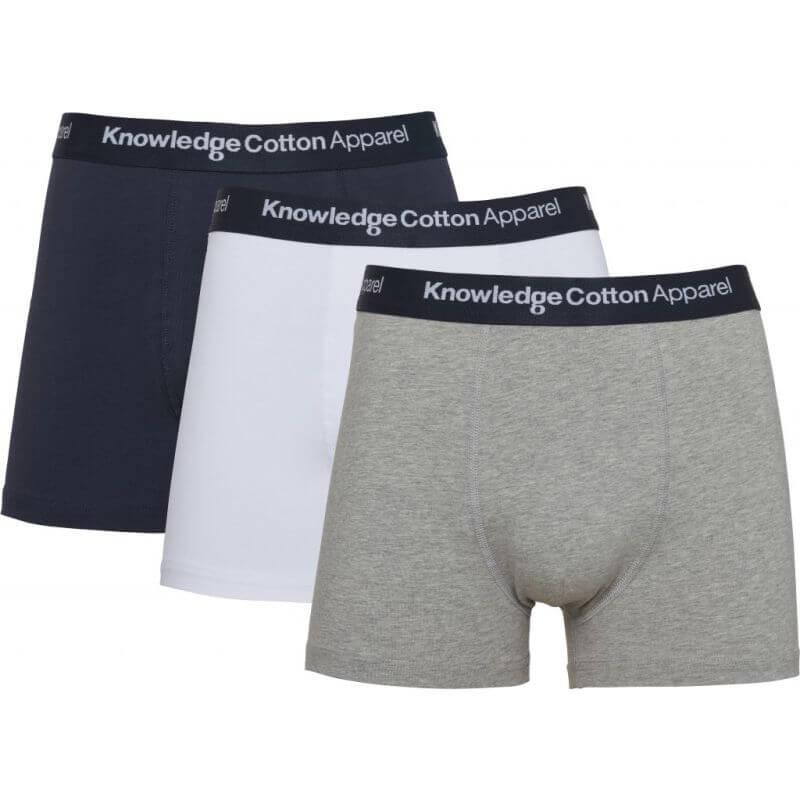 Herren-Unterhosen im 3er-Pack grey melange