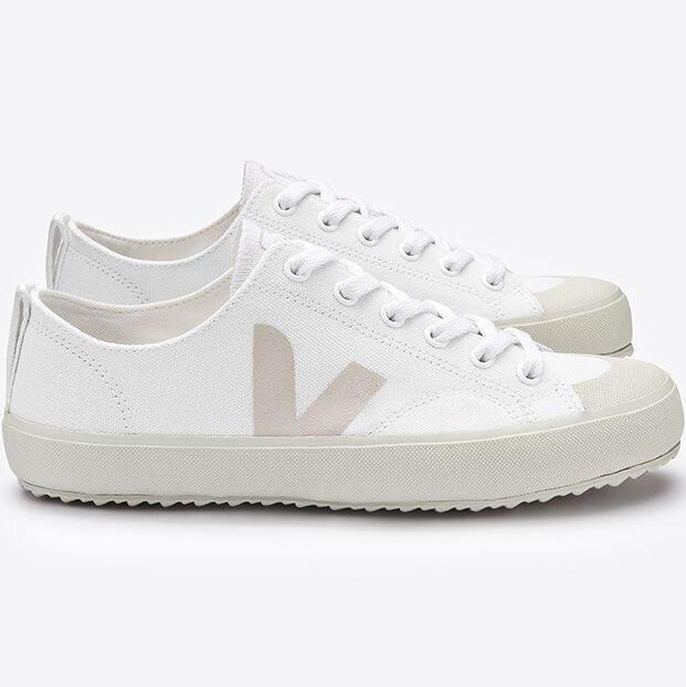 Vegane Sneaker Nova Canvas White Pierre