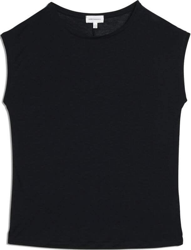 Seidiges Damen-Shirt JILAA black