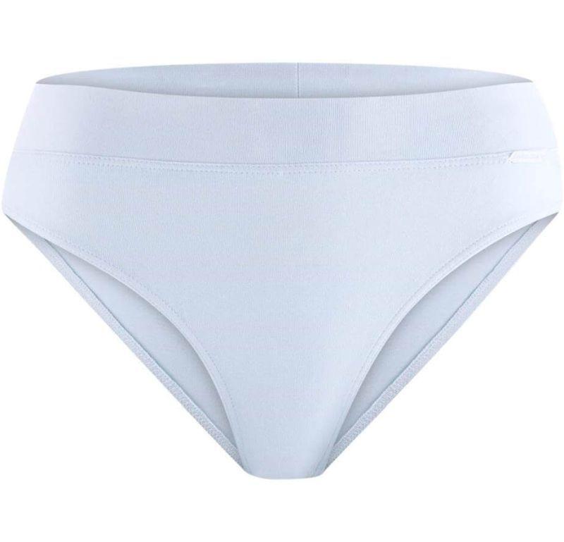Bequemer Damen-Slip white lavender