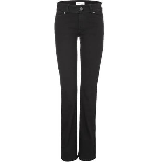 Vegane Damen-Jeans - Bootcut - Black One Wash