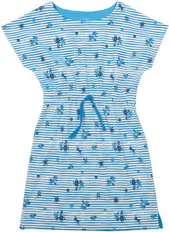 Hübsches Kurzarm-Kleid mit Blümchen