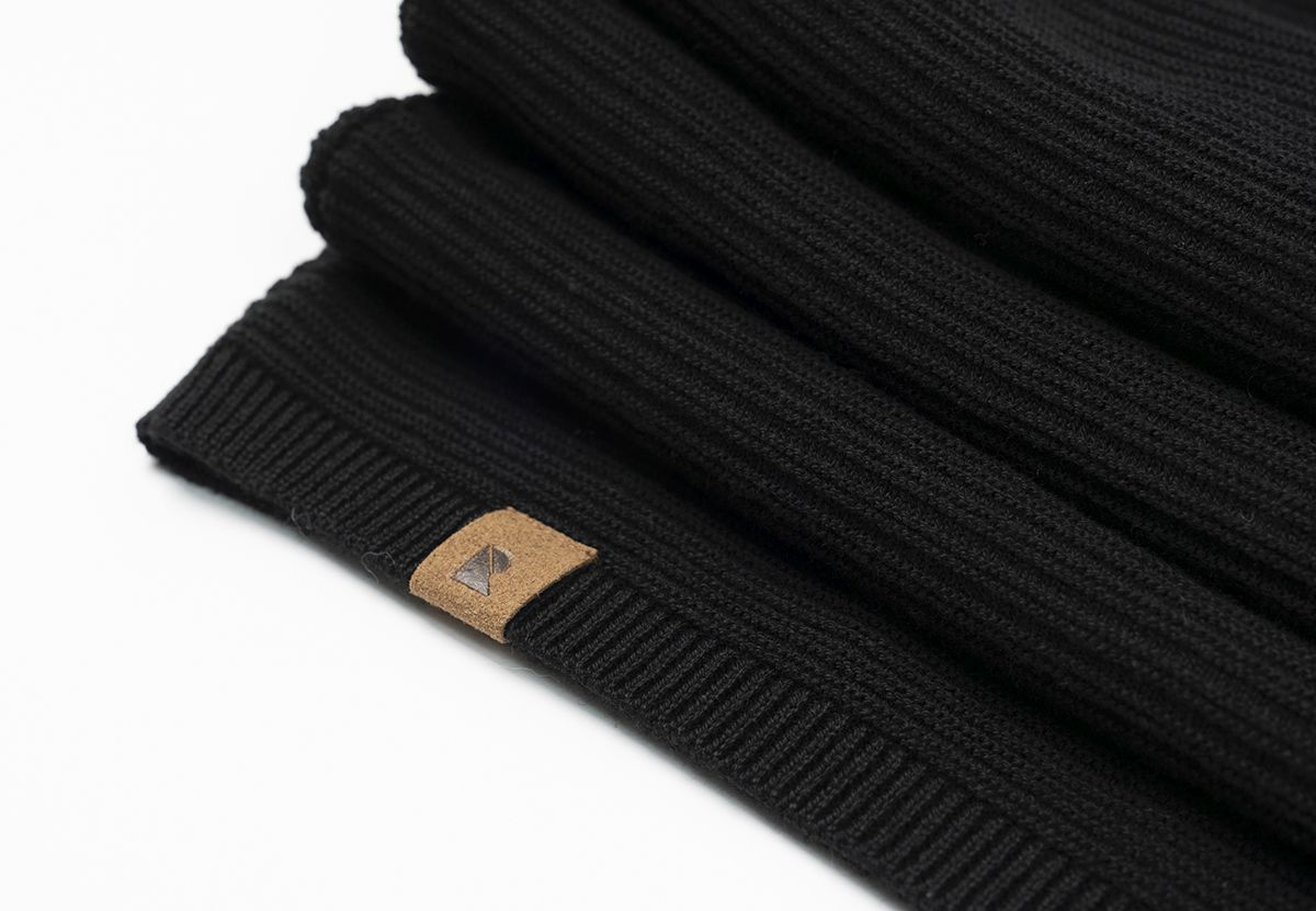 Damen-Strickkleid ROSEMARY black
