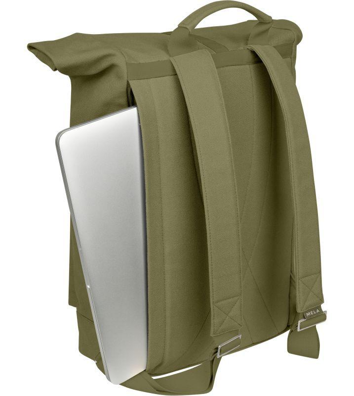 Großer Rolltop-Rucksack AMAR in olive green