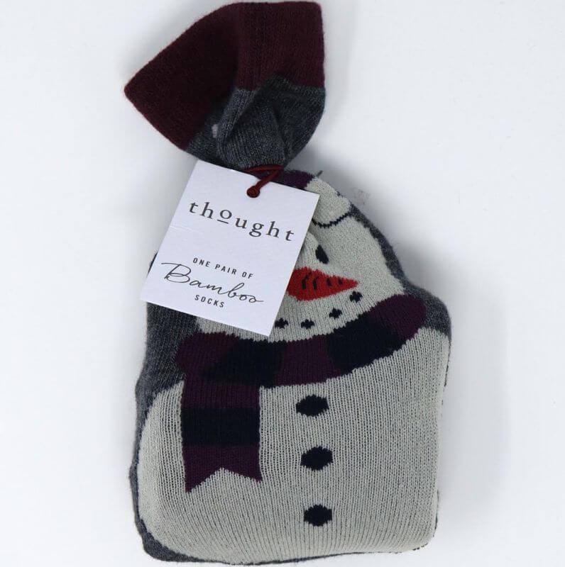 Herren-Socken Edus Dark Grey Marle im Beutel