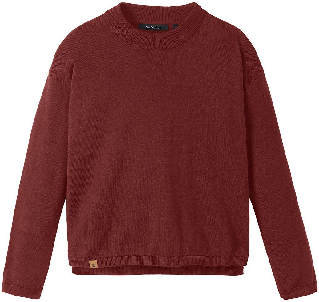 Damen-Pullover SAGE ruby red