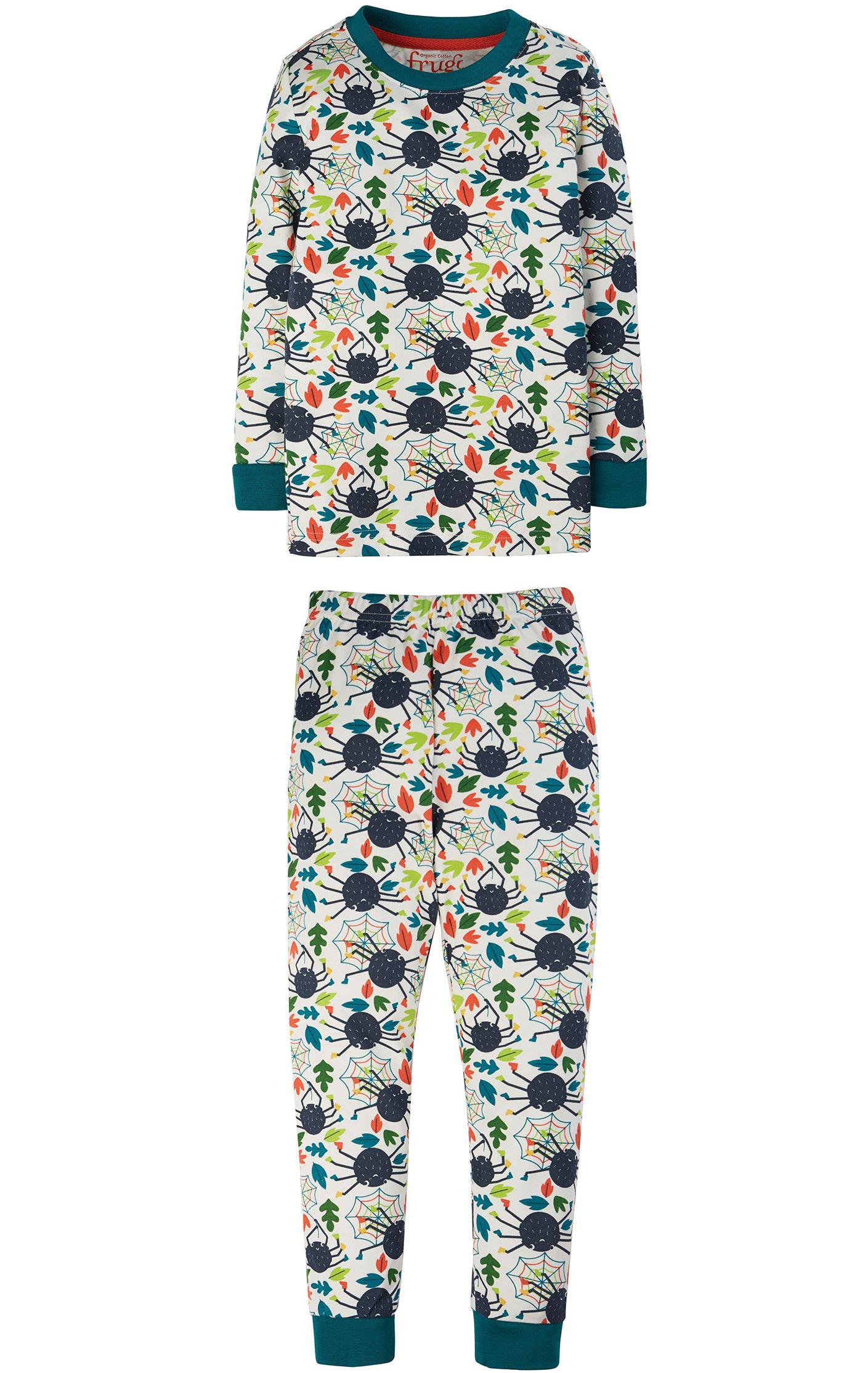 Zweiteiliger Kinder-Schlafanzug mit Spinnen-Print