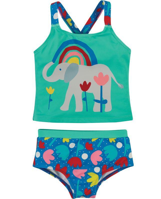 Süßer Tankini für Mädchen mit Elefant