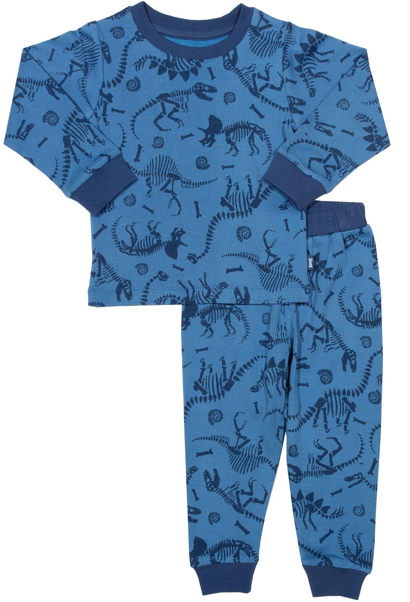 Zweiteiliger Schlafanzug für Kinder mit Dino-Muster