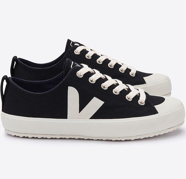Vegane Sneaker Nova Canvas Black Pierre