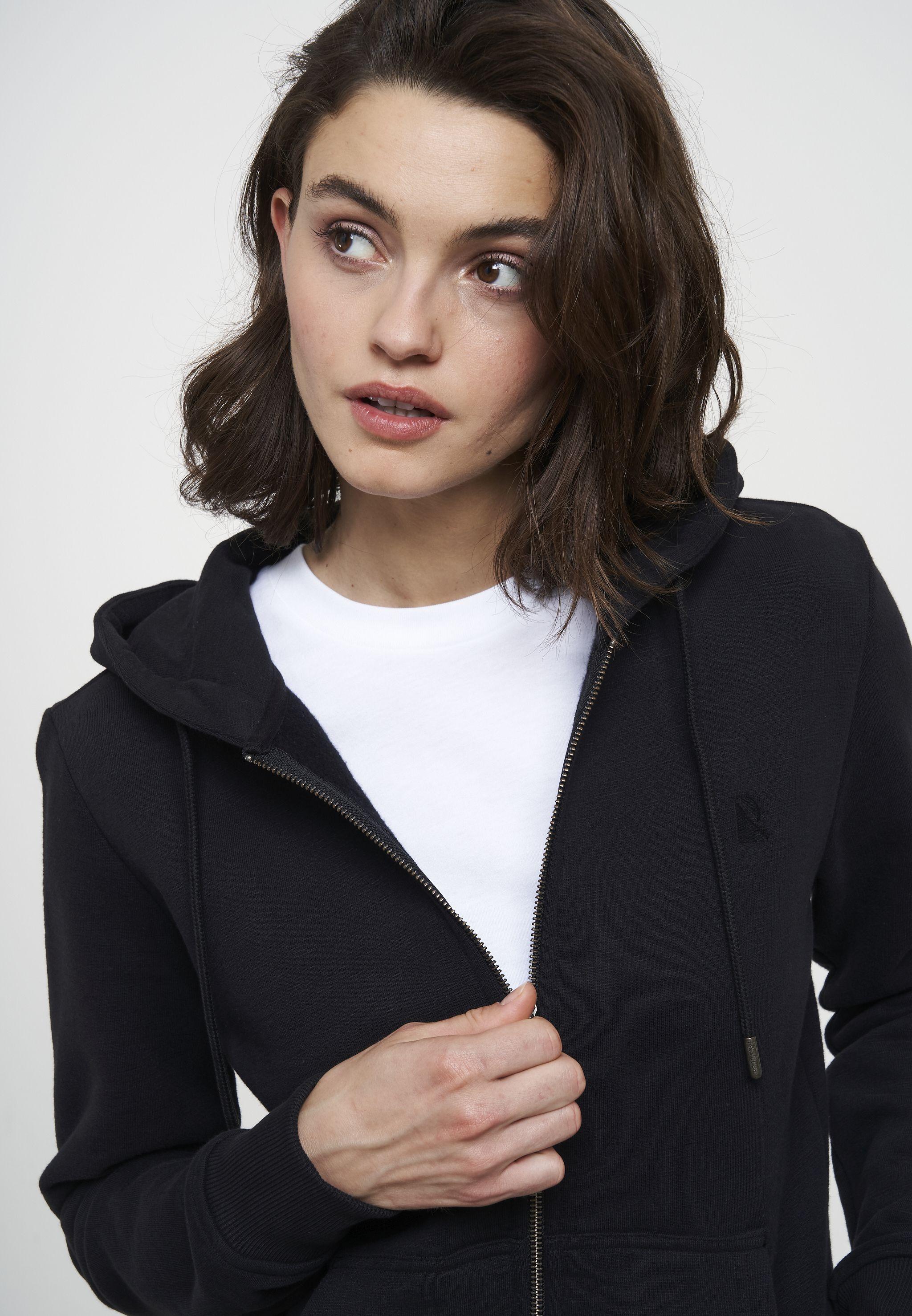 Damen-Sweatjacke DAHLIA black