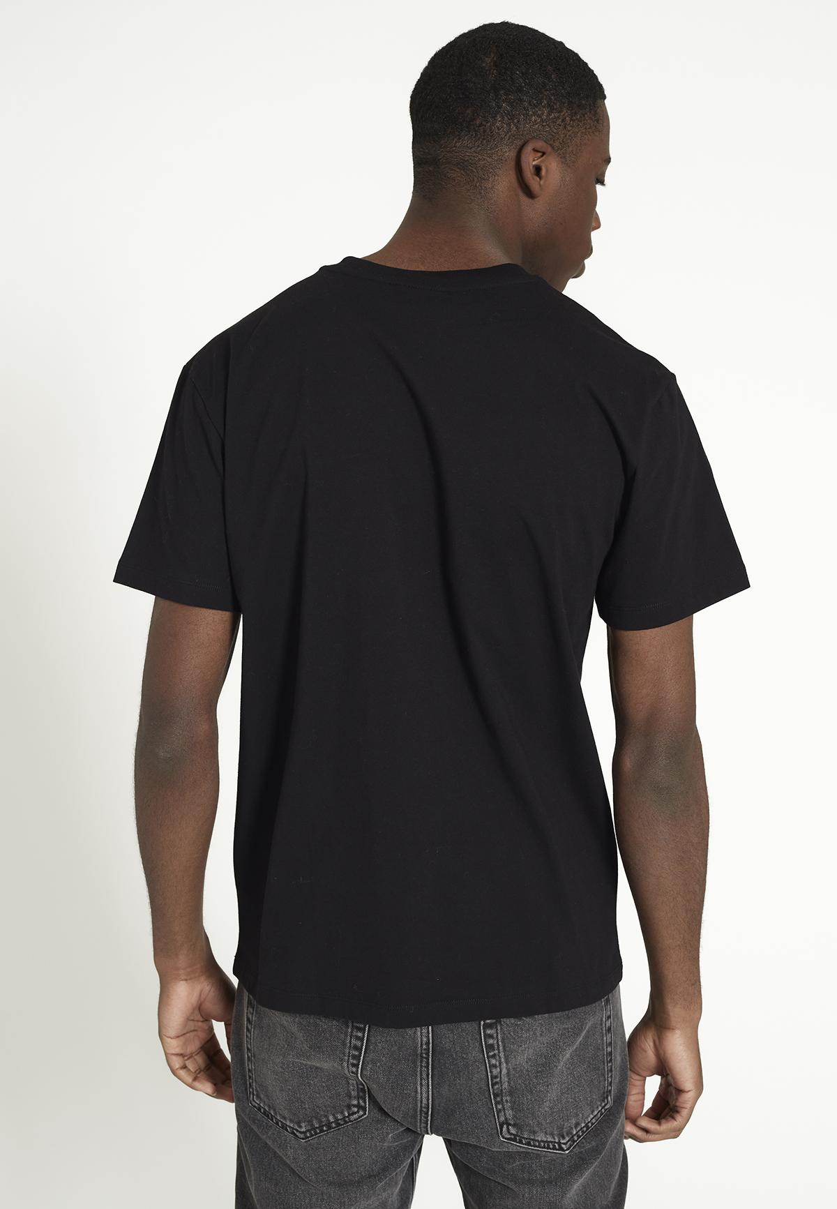 Herren-Shirt AGAVE RECO black