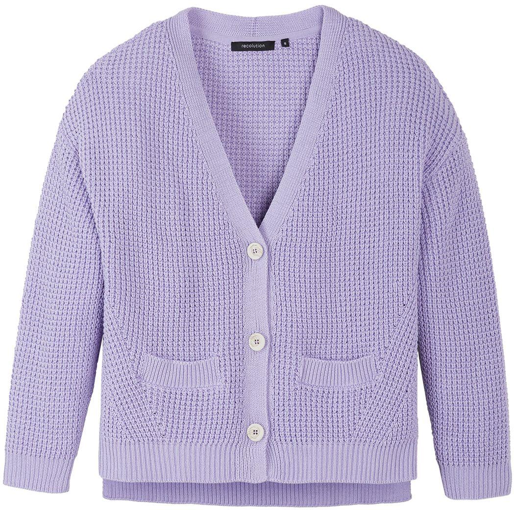 Damen-Cardigan AZARA lilac