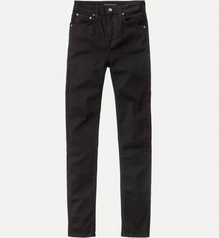 Damen-Jeans Hightop Tilde - Ever Black