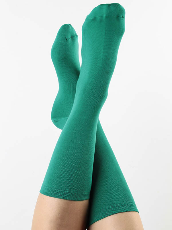 Damen-Socken grün