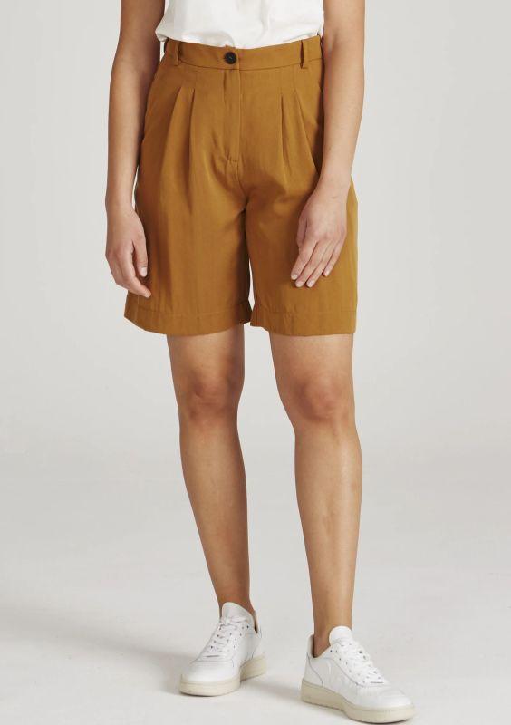 Schicke Damen-Shorts Petra in Ocker