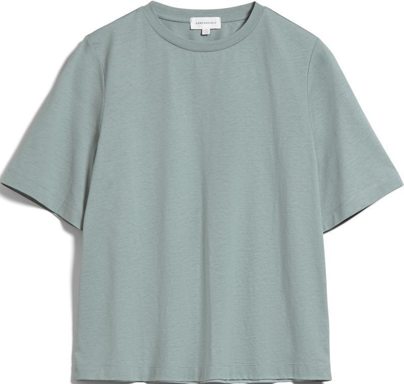 Damen-Shirt LAYAA MERCERIZED eucalyptus green