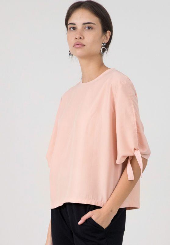 Raffiniertes Damen-Shirt Romira puderrosa