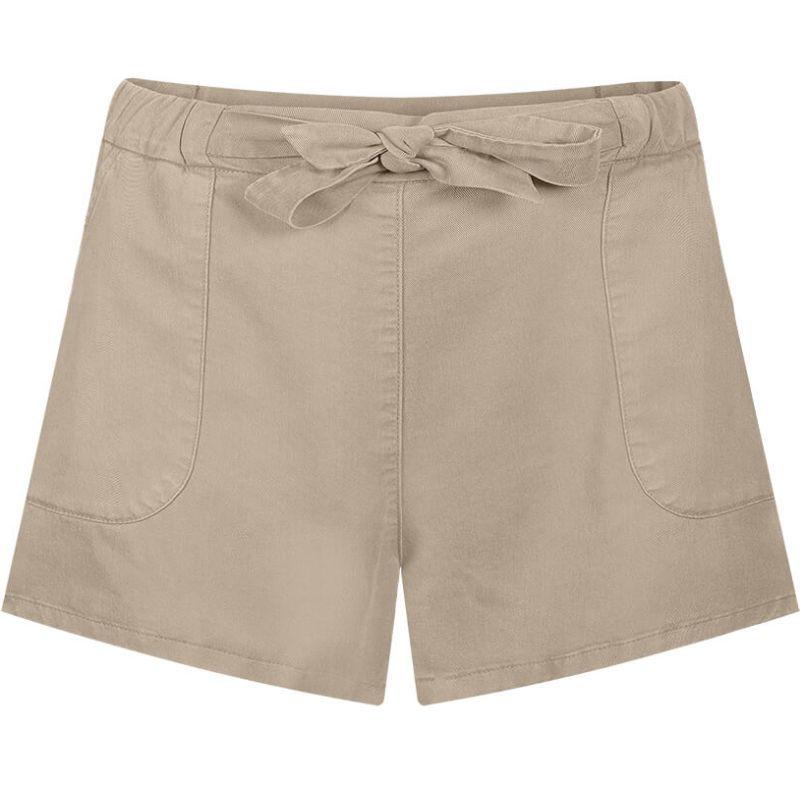 Bequeme Damen-Shorts in Sand