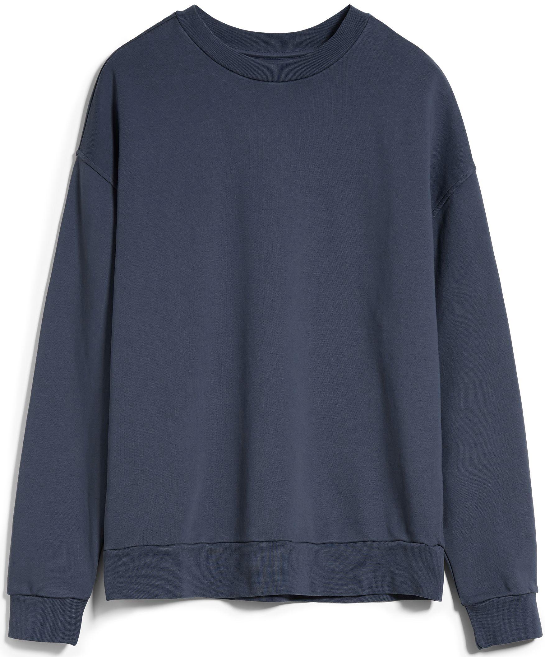 Sweatshirt AARIN EARTHCOLORS natural indigo