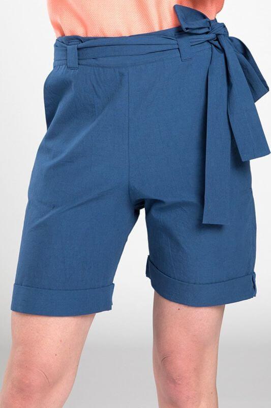 Schicke Damen-Shorts Amruth in Blau