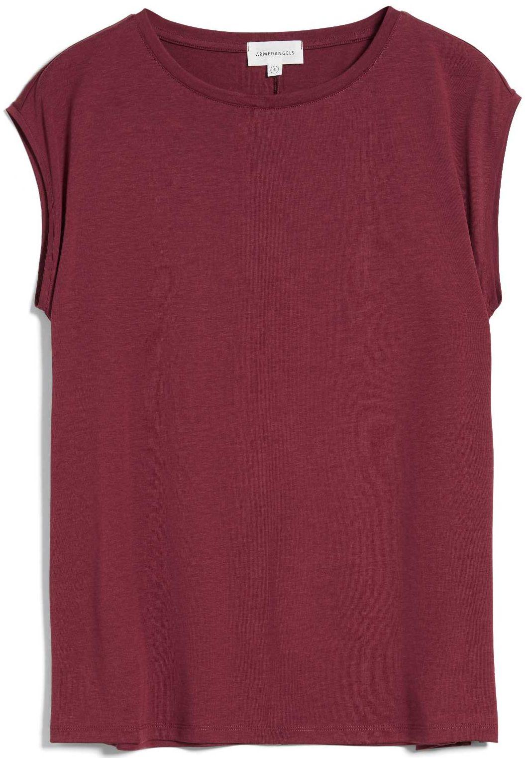 Damen-Shirt JILAA ruby red