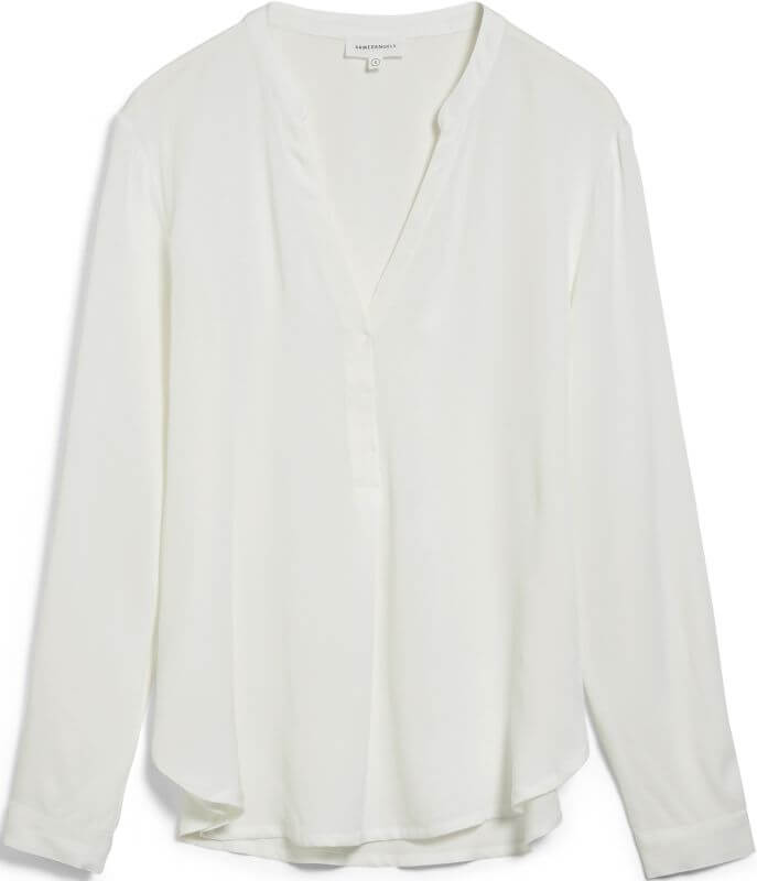 Schicke Langarm-Bluse CEYLAAN off white