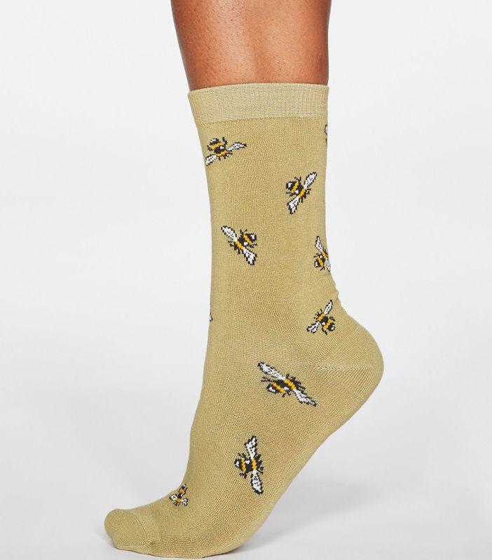 Damen-Socken Rhoda Bee in Pear Green