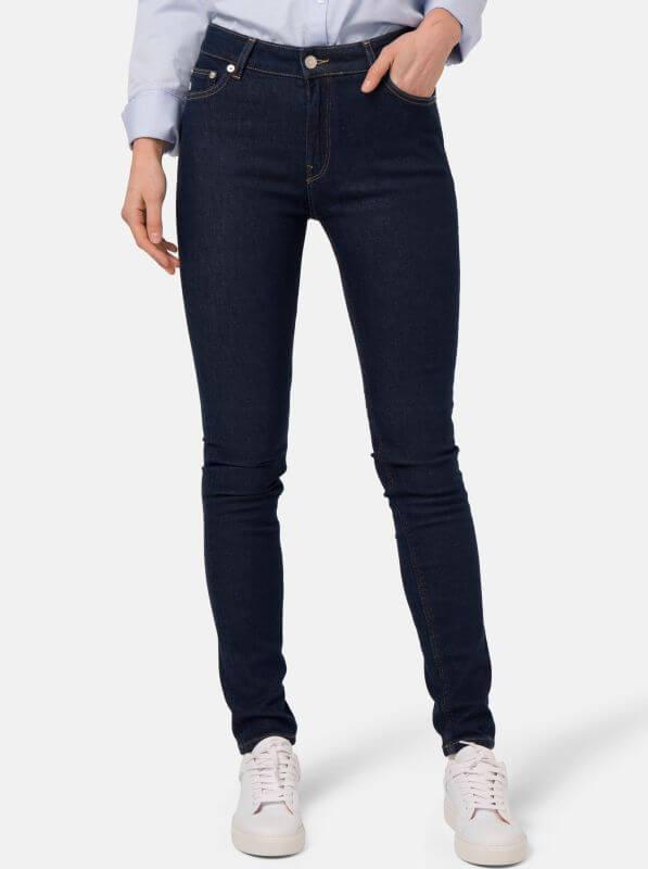 Damen Jeans Skinny Hazen strong blue
