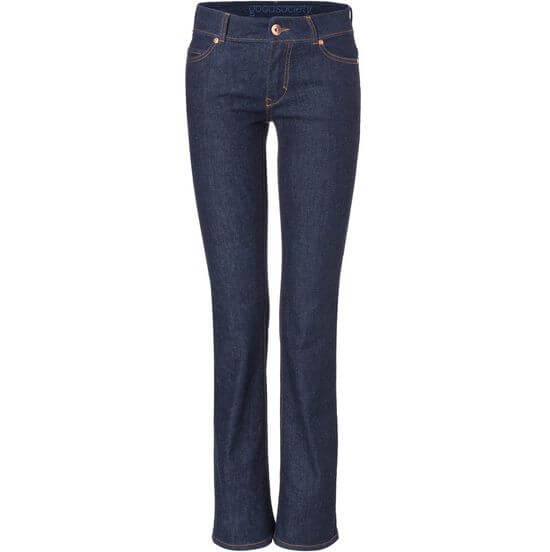 Vegane Damen-Jeans - Bootcut - Raw One Wash