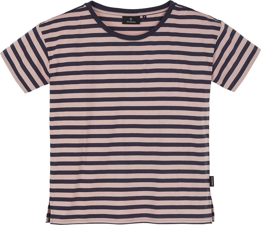 Damen-Shirt FORTUNELLA dark navy / nude rose