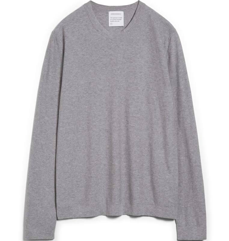 Herren-Pullover LAANDO grey melange