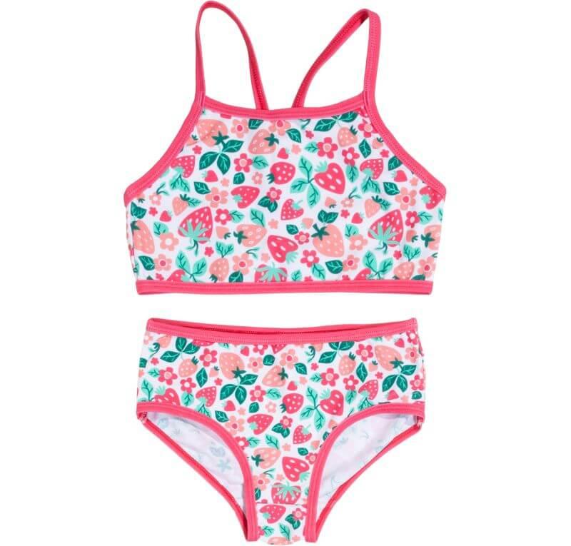 Hübscher Bikini mit Erdbeeren