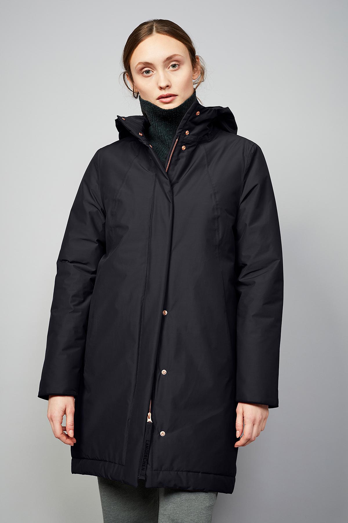 Wetterfester Damen-Mantel Ariza black