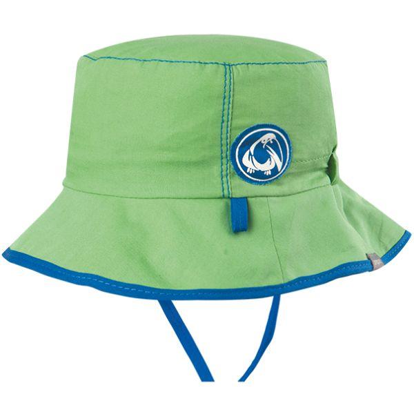 Grüner Jungs-Hut mit Nackenschutz