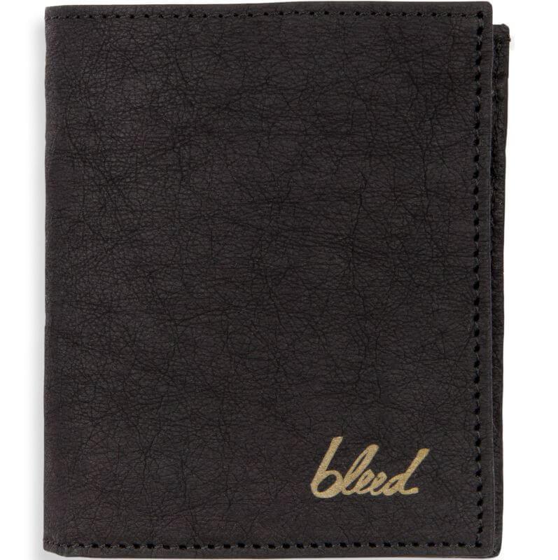 Veganer Jacroki®-Geldbeutel in Schwarz aus Altpapier