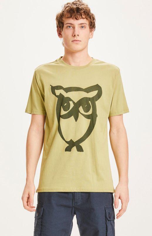 Modisches Herren-Shirt ALDER brushed owl in Sage