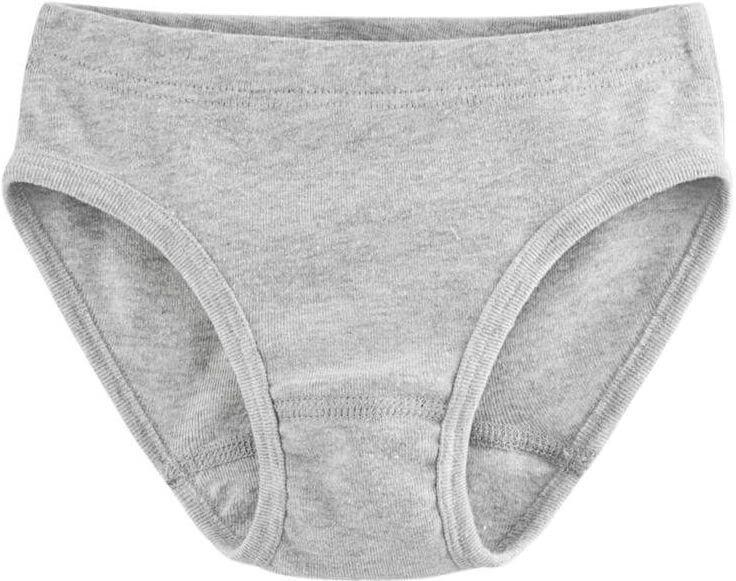 Bequemer Kinder-Slip grey melange