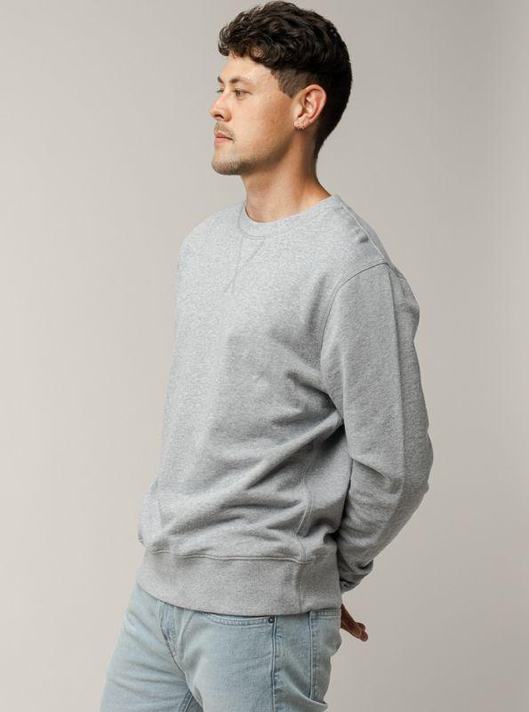 Sportliches Sweatshirt ADIL in grey melange