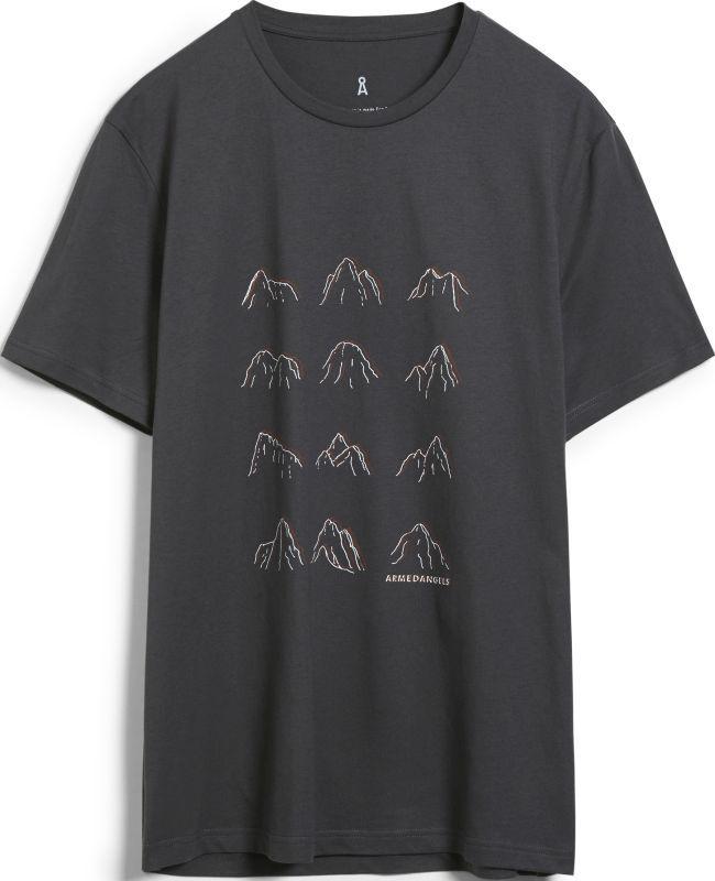 T-Shirt JAAMES MANY MOUNTAINS acid black