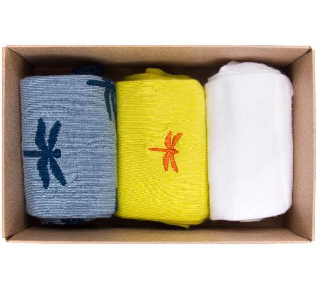Praktische Socken-Box Summer