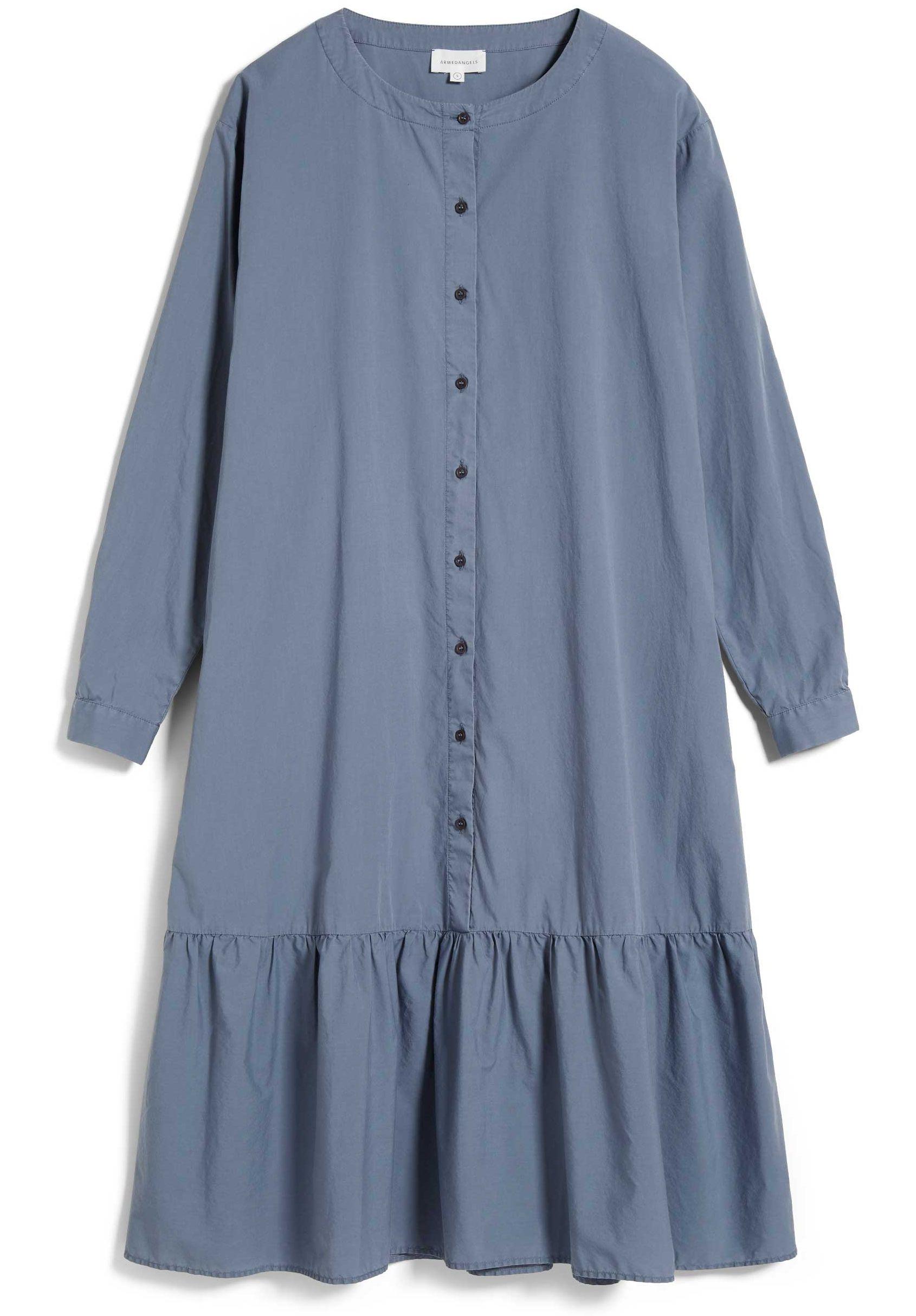 Damen-Kleid MIHAELAA EARTHCOLORS natural indigo