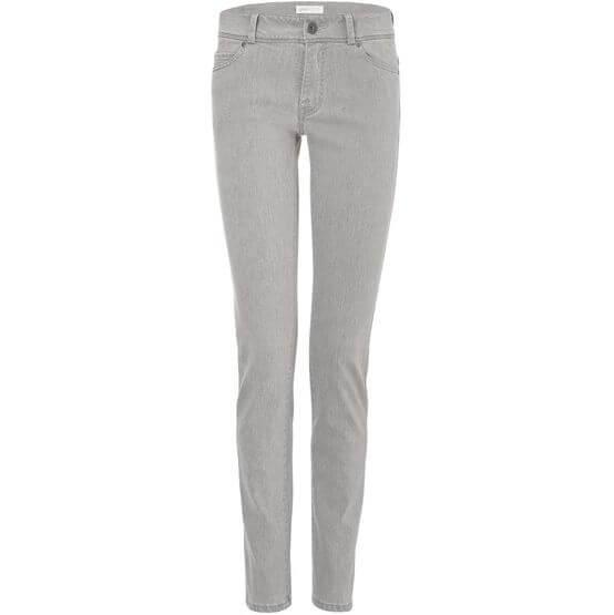 Vegane Damen-Jeans - Slim Fit - Black Silver