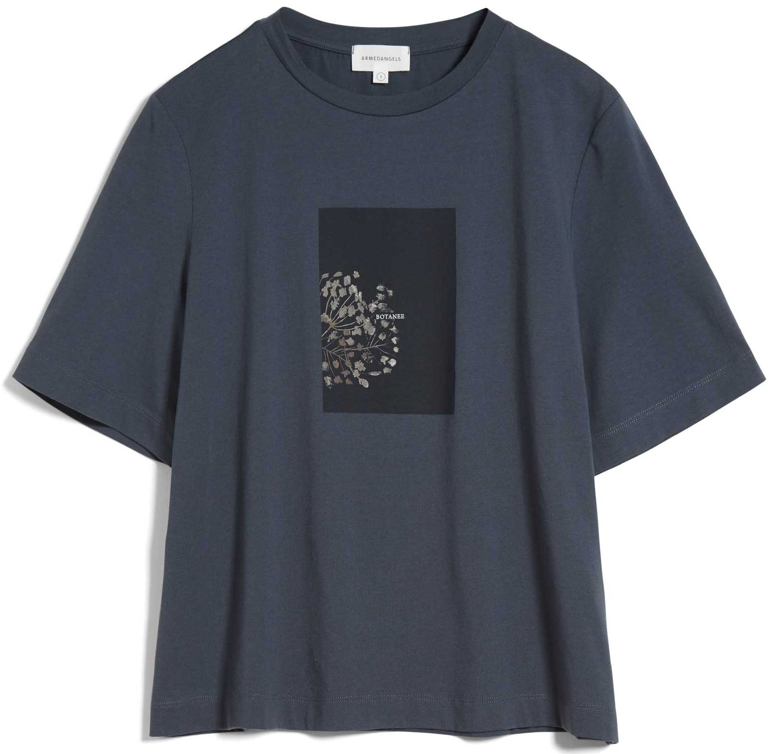 Damen-Shirt LAYAA BOTANEE indigo