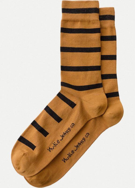 Herren-Socken Olsson Tiger Stripes Amber