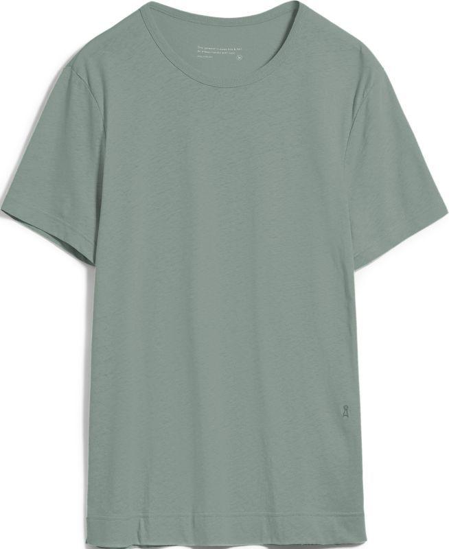Herren-Shirt AANTONIO LINEN agave