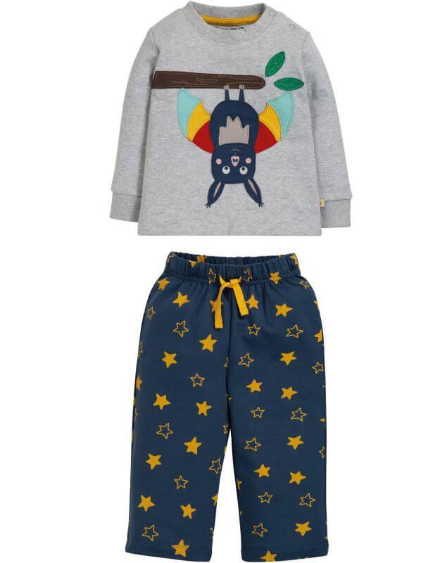 Zweiteiliger Baby-Schlafanzug mit Fledermaus