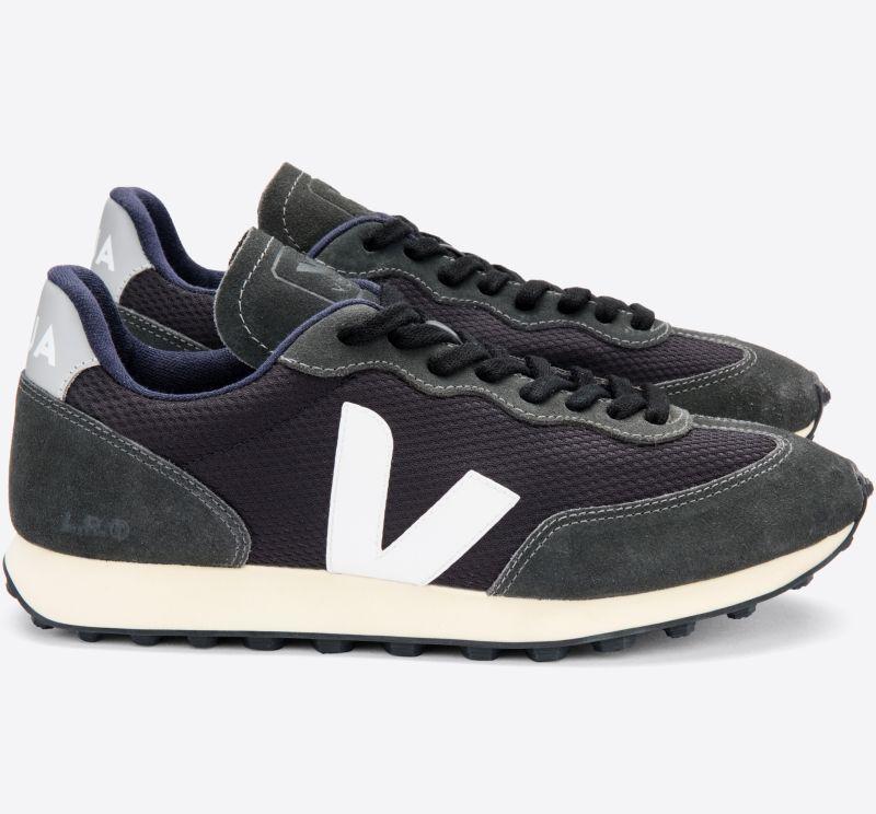 Herren-Sneaker Rio Branco Alveomesh Black White Oxford Grey